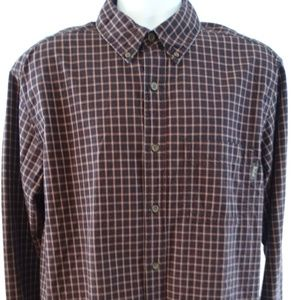 Mens WOOLRICH Outdoors Shirt L WOOLEN MILLS